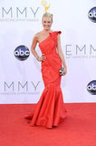 Cat Deeley Steps Out in a Dramatic Red Gown For the Emmys
