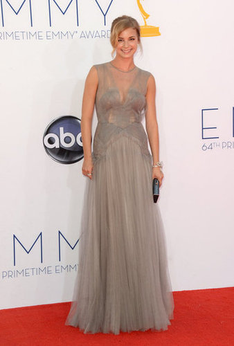 Emily Van Camp arrived on the red carpet.