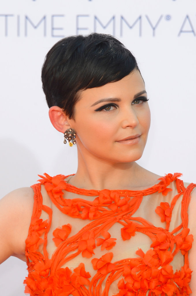 Ginnifer Goodwin Goes With a Fairy-Tale Monique Lhuillier Gown