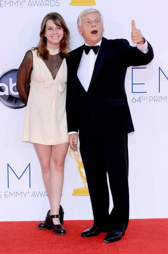 Robert Morse arrived at the Emmys.