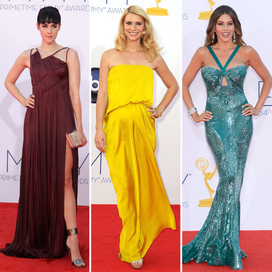 Top Four Colour Trends from the 2012 Emmy Awards Red Carpet: Yellow, Bordeaux, Grey and Seafoam