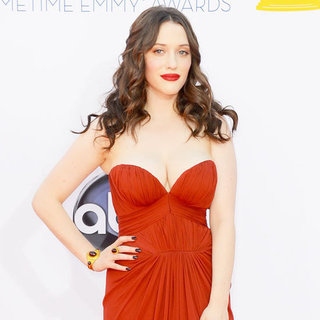 Kat Dennings at the Emmys 2012
