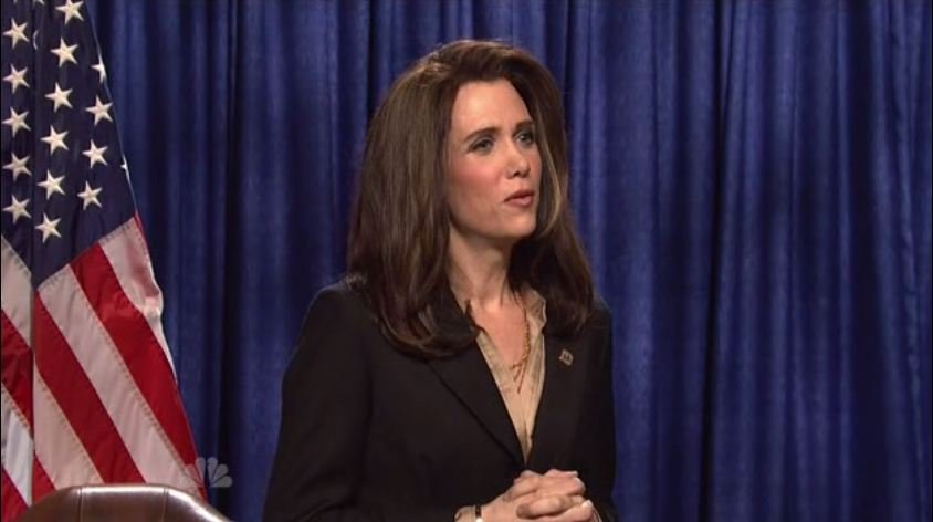 Kristen Wiig as Michele Bachmann on Saturday Night Live