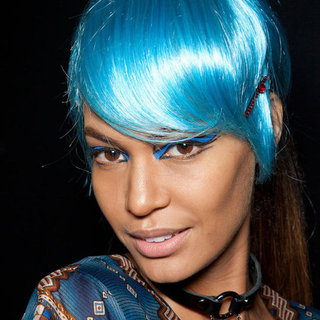 Anna Sui Spring 2013 Hair and Makeup