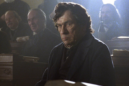 Tommy Lee Jones is Thaddeus Stevens in the movie.