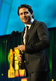 Danny Pino accepted an honor at the ALMA Awards in LA.