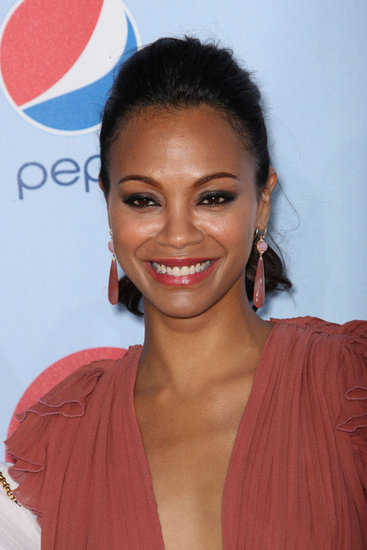 Zoe Saldana attended the 2012 ALMA Awards.