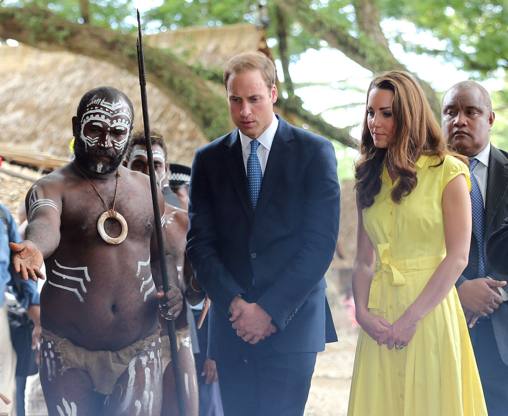 Prince William and Kate Have a Busy Day Before a Private Beach Night