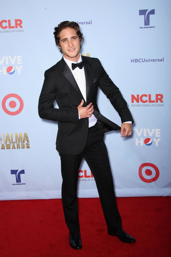 Diego Boneta attended the 2012 ALMA Awards.