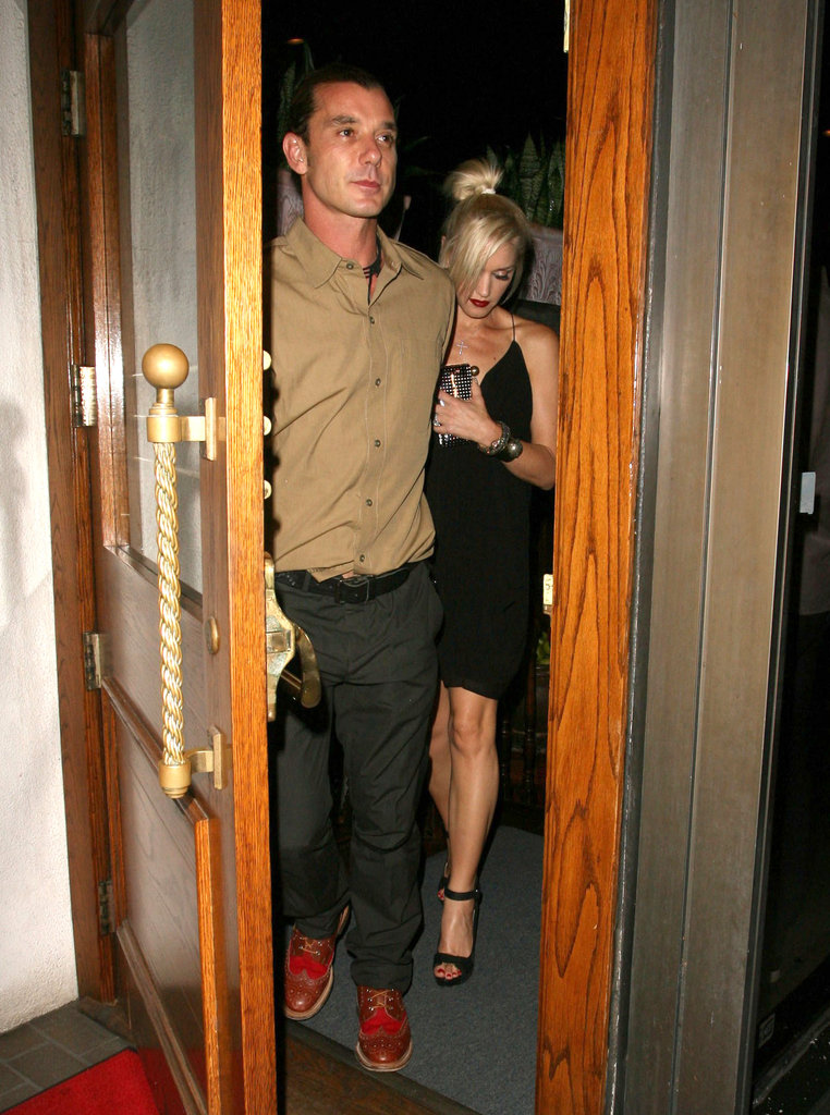 Gavin Rossdale opened the door for Gwen Stefani.
