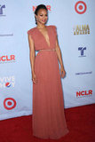Zoe Saldana attended the 2012 ALMA Awards in Gucci.
