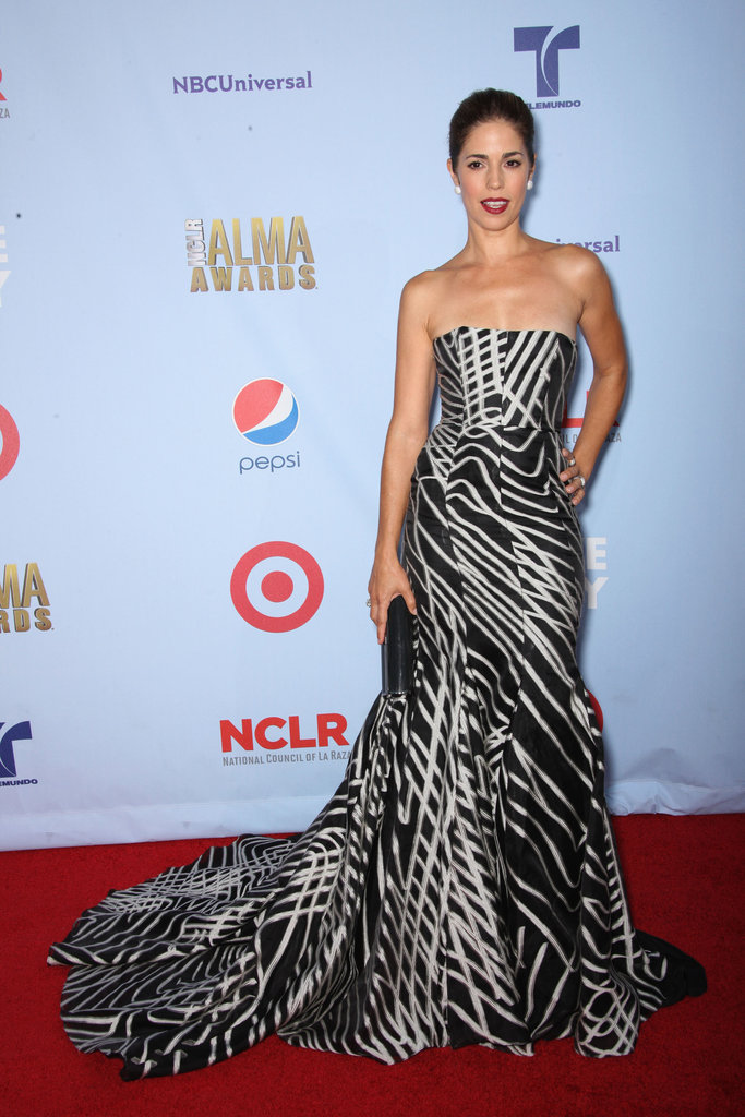 Ana Ortiz arrived at the 2012 NCLR ALMA Awards at Pasadena Civic Auditorium.