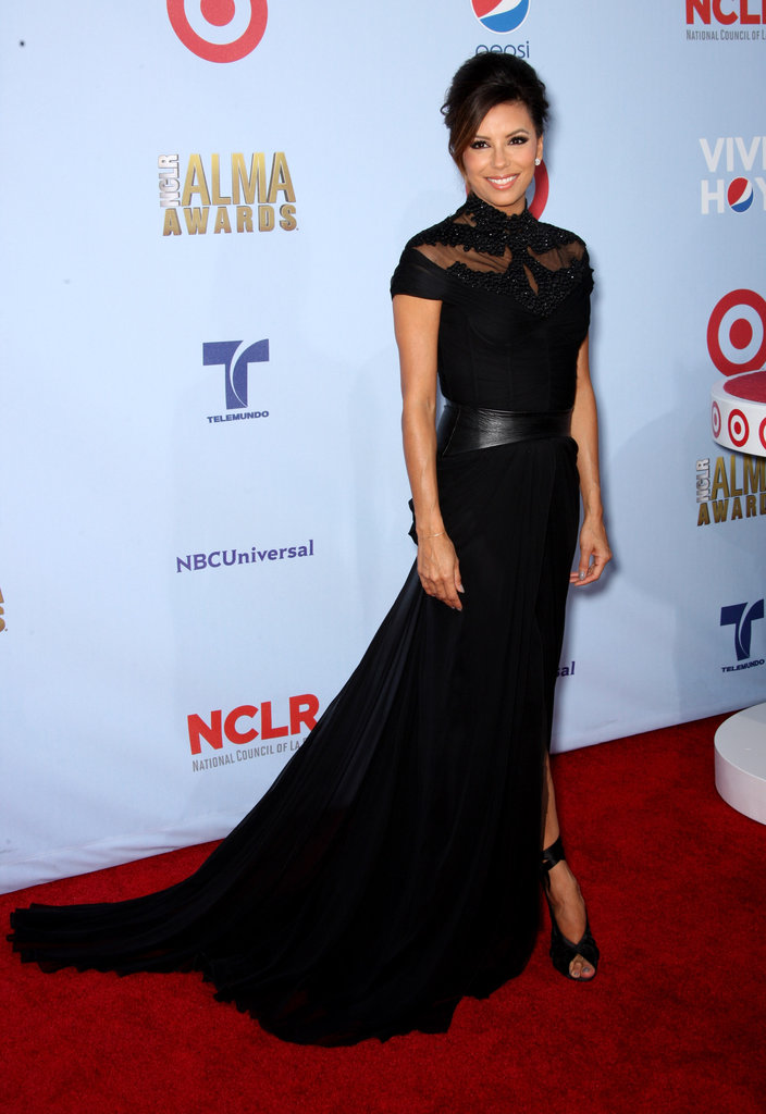 Eva Longoria attended the 2012 ALMA Awards.