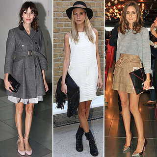 Alexa Chung, Poppy Delevigne, Olivia Palermo & More Style At London Fashion Week
