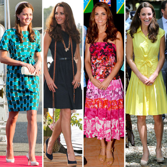 Kate Middleton Takes on Island Style in Bold Hues and Tropical Prints