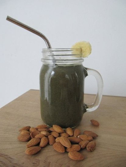 Supergreen Banana Cacao Smoothie