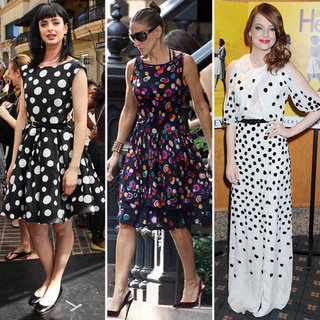 Polka-Dot Dresses (Celebrity Pictures and Shopping)