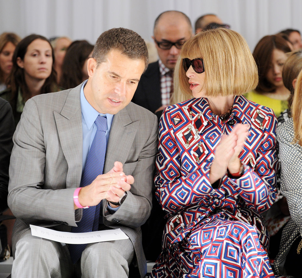 Anna Wintour went to the 2013 Spring Mulberry show.