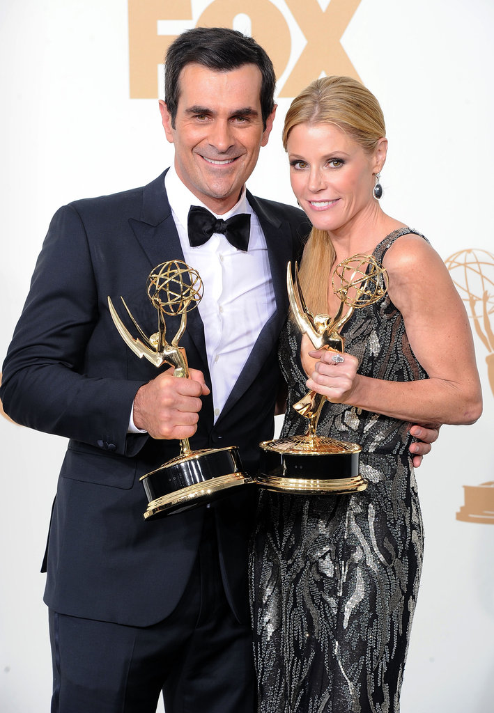 Modern Family couple Ty Burrell and Julie Bowen took home matching trophies in 2011.