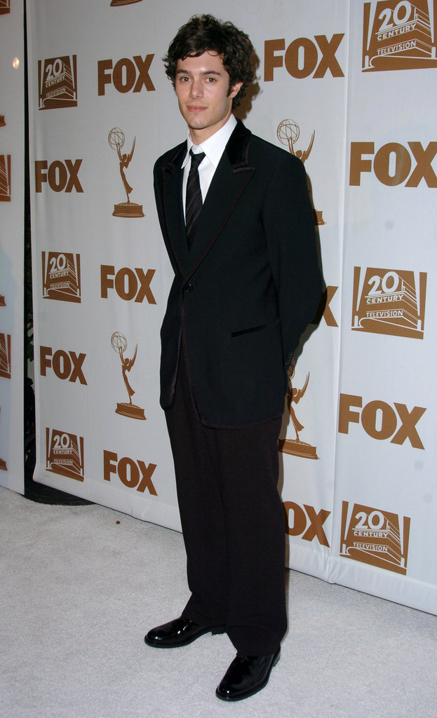 Adam Brody posed solo arriving at Fox's afterparty in 2004.