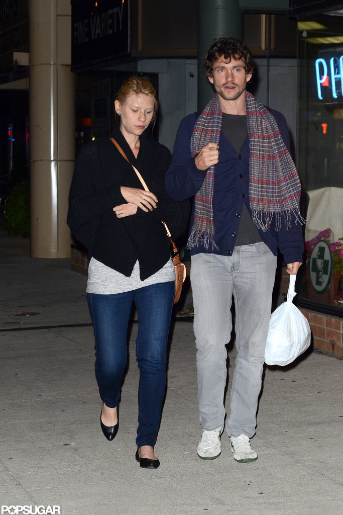 Claire Danes and Hugh Dancy were out in Toronto.