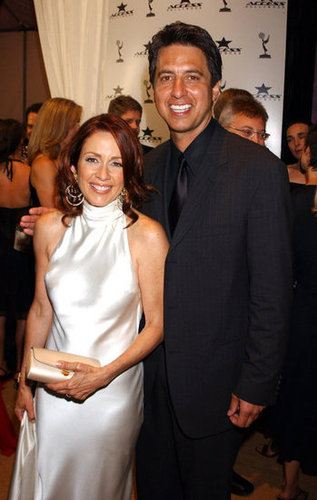Ray Romano and Patricia Heaton met up at a party in 2003.