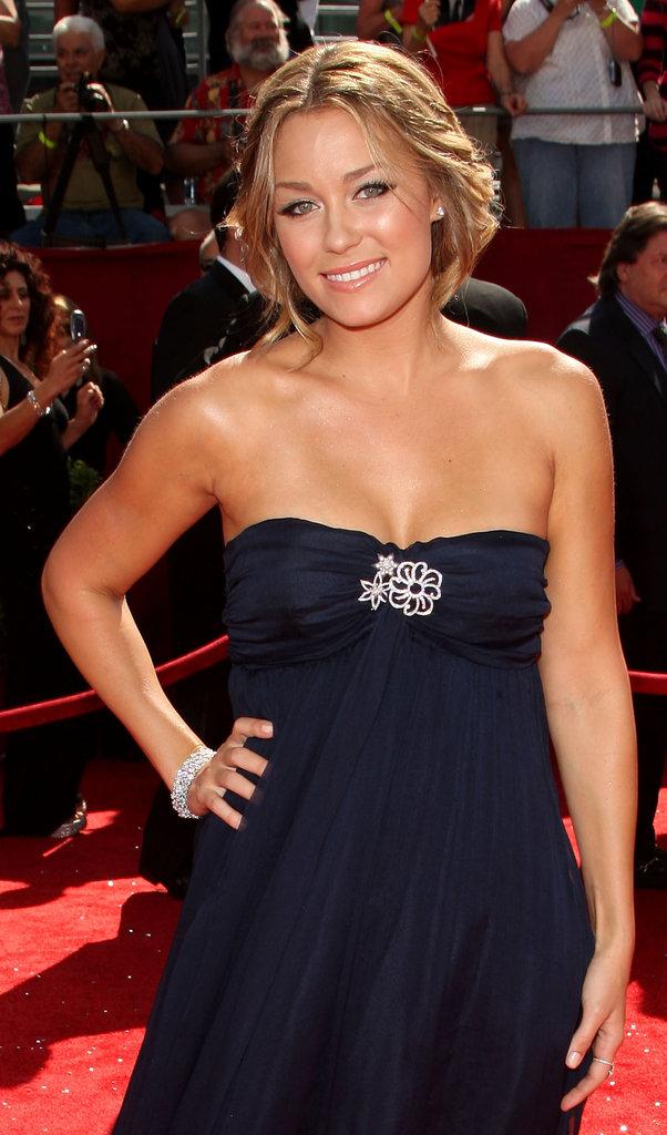 Lauren Conrad wore a navy design in 2008.