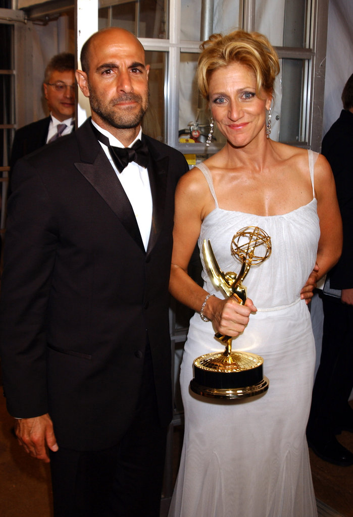 Eddie Falco, joined by Stanley Tucci, went home with the award for lead actress in a drama series in 2003.