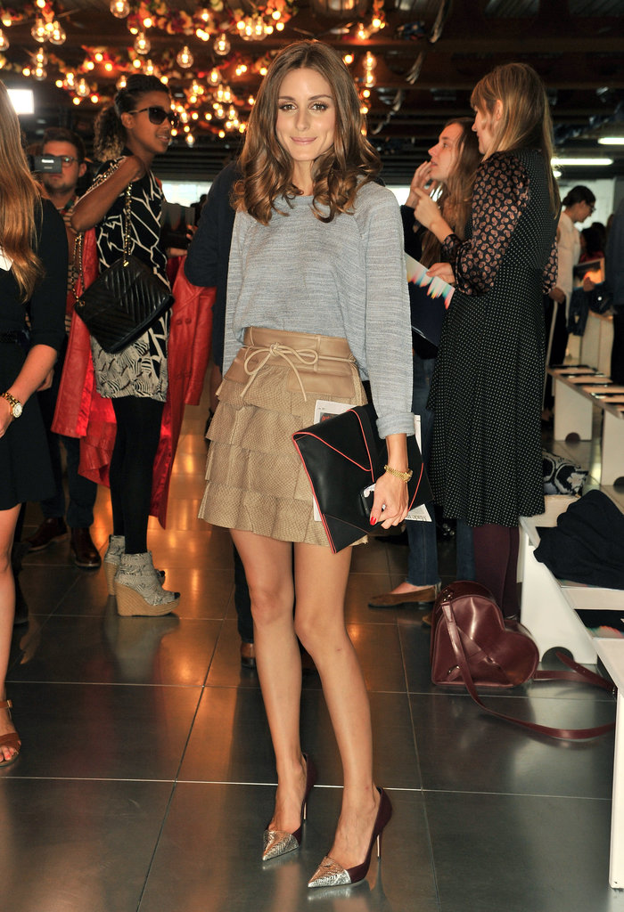 Olivia Palermo attended Matthew Williamson.