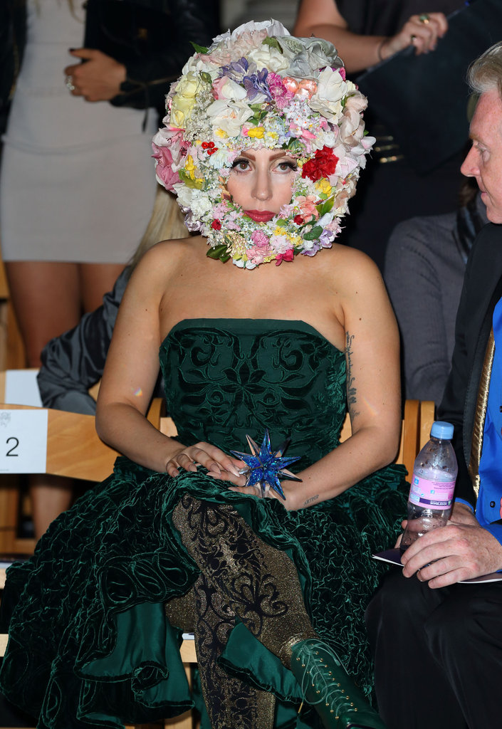 Lady Gaga went to LFW.