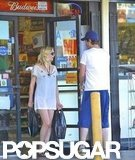 Garrett Hedlund held the door for girlfriend Kirsten Dunst in LA.