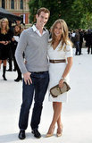Andy Murray and Kim Sears at Burberry