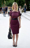 Alice Eve at Burberry