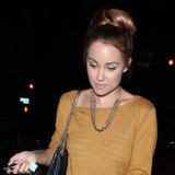 Leaving Tru Nightclub, Hollywood in October 2011.