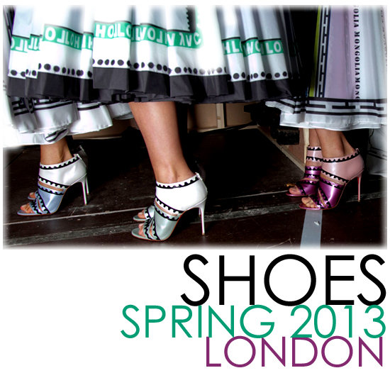 Runway Recap: The Best Shoes From London Spring 2013
