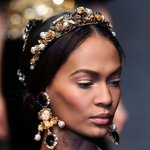 Dolce and Gabbana Hair and Makeup | Fashion Week