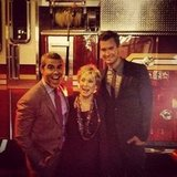 Andy Cohen hung out with Jeff Lewis and Cloris Leachman. Source: Instagram user bravoandy