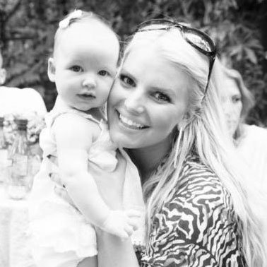 Jessica Simpson Pictures With Baby Maxwell Johnson on Eric Johnson's Birthday