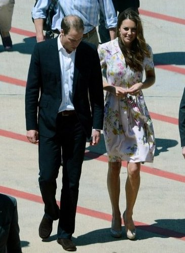For her parting look on the last day of the Diamond Jubilee tour, Kate Middleton chose one of Dannii Minogue's Spring '12 dresses. This particular clothing line is also a favorite of Pippa Middleton's!