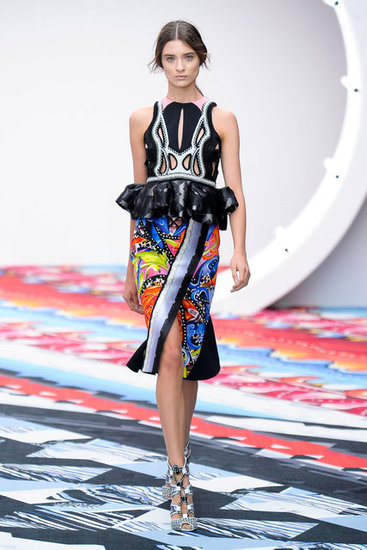 Peter Pilotto's vibrant prints were a standout at London Fashion Week and are already hitting the red carpet. Stars like Emma Watson and Kerry Washington have worn his colorful pieces this year.