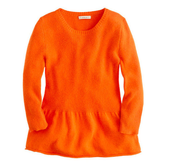 Crewcuts Peplum Sweater ($58)