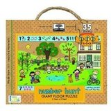 Green Start Giant Floor Puzzle: Number Hunt ($15)