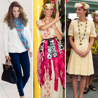 Kate Middleton's Eastern Tour Wardrobe