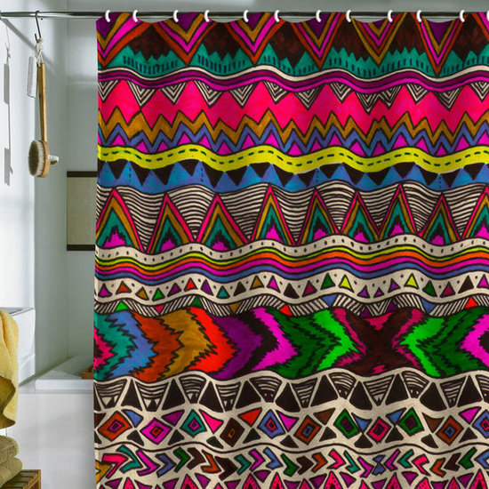 DENY Designs Kris Tate 'Poncho' Shower Curtain