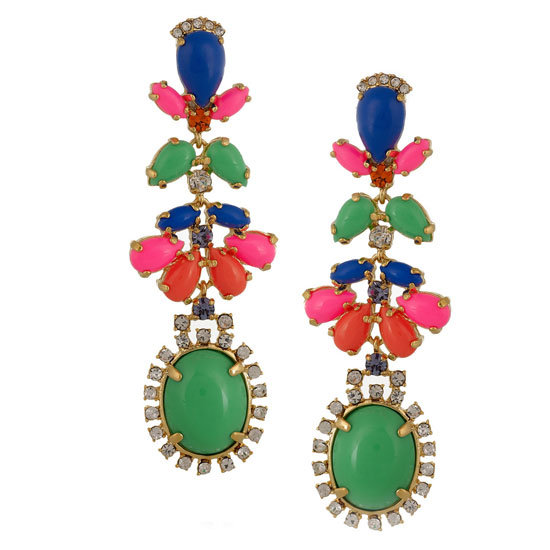 J.crew's accessories are always bang-on trend and look more exy than they really are. — Ali, FabSugar editor Earrings, approx $61, J.Crew at Net-a-Porter