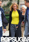 Blake Lively Gets to Work as Her Rep Shuts Down Pregnancy Rumors
