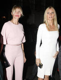 Gwyneth Paltrow and Cameron Diaz arrived at the Obama Victory Fund dinner held at Mark's Club together.
