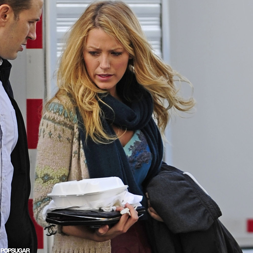 Blake Lively got to work on Gossip Girl despite pregnancy rumors.