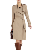 A minimal, modern, and work-appropriate choice for the office.  BCBG MAX AZRIA Dietrich Double-Breasted Trench Coat ($348)
