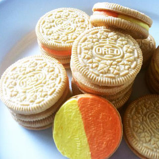 What Is a Candy Corn Oreo Made From?
